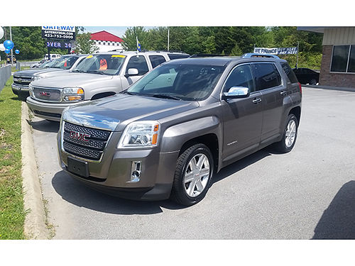 2010 GMC TERRAIN AWD leather v6 auto G2697 13944 Gateway Auto Center Jonesborough TN