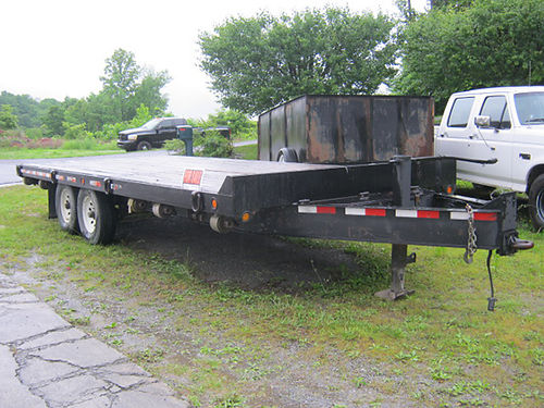 TRAILER 20ft dual axle 4500