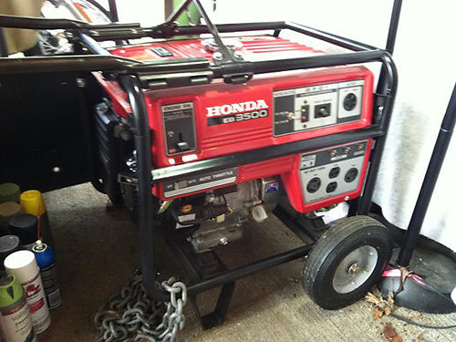 GENERATOR Honda EB 3500 Generator Like new ONLY 750 423-943-1147
