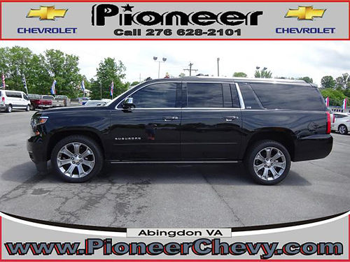 2015 CHEVY SUBURBAN LT 4x4 leather 7666A 48995 VA DLR - PIONEER CHEVY Abingdon VA
