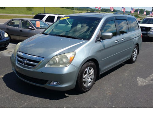 2005 HONDA ODYSSEY Touring Pack DVD rear 3rd row seat traction control loaded clean 2202 699
