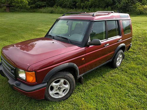 2000 LAND ROVER DISCOVERY many new parts new paint brand new tires low miles 3500 423-217-5691