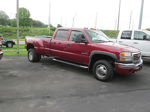 2004 GMC 3500 SLE Dually auto Duramax fully loaded high miles like new Books for 17k Weekly