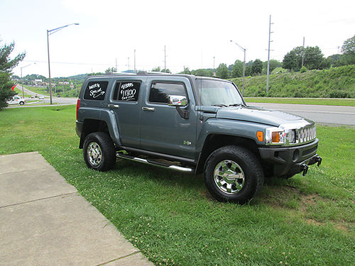 2006 HUMMER H3 Luxury auto 4x4 loaded like new Retail 14900 Weekly special 11800 LIGHTNING