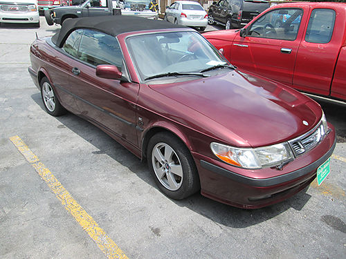2003 SAAB 93 4cyl FWD maroon all power 2dr cd keyless entry 147k 19064 4000 ALLEN HODGE MO