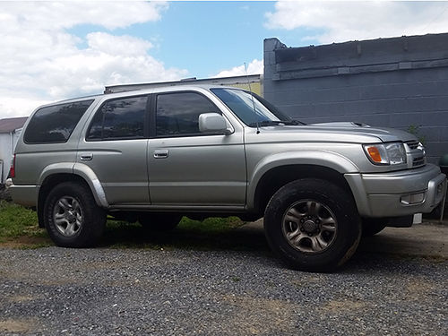 2001 TOYOTA 4-RUNNER SR5 4wd V6 auto sunroof loaded 0139 3999 Stoots Auto Works 423-477-282