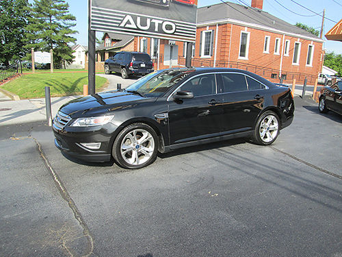 2010 FORD TAURUS SHO Twin Turbo heatedcooled seats 20 wheels psunroof fully loaded nice  cl
