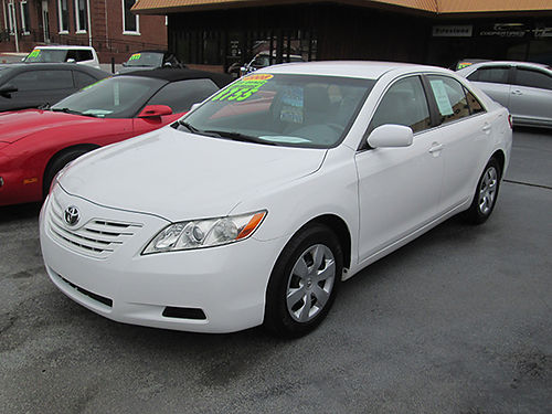 2008 TOYOTA CAMRY LE 268hp 6 cyl leather fully loaded 93k 1 owner clean as a pin local trade