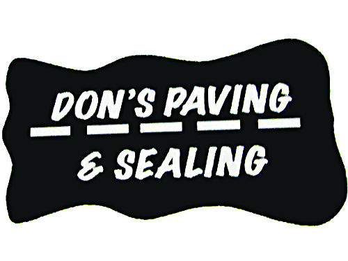 DON PAVING  SEALING Serving Eastern Tennessee And Southwest Virginia For 25 Years Seal Brush App