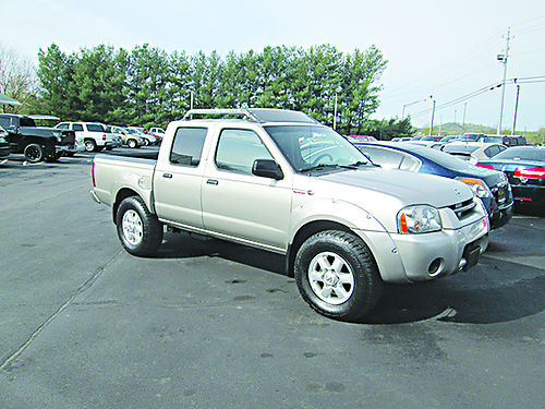 2004 NISSAN FRONTIER Crew Cab v6 Super charged 4x4 auto air cd 2479 8995 LIGHTNING AUTO SALES