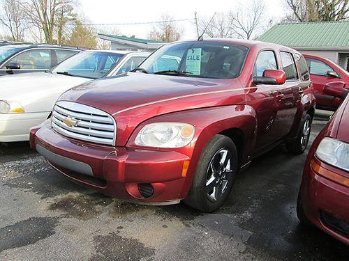 2009 CHEVY HHR 4cyl auto maroon all power 4dr cd 162k 19490 3900 ALLEN HODGE MOTORS Bristo