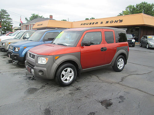 2004 HONDA ELEMENT 4x4 sunroof new tires all power extra nice Local trade HE04 6750 HOUSER