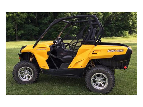 2014 CAN-AM COMMANDER 800 garage kept 820 miles excellent condition used on our property only s