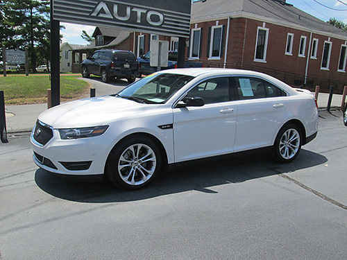 2013 FORD TAURUS SHO 4dr v6 twin turbo loaded all power 104k miles 135HO 15990 HOUSER  SONS
