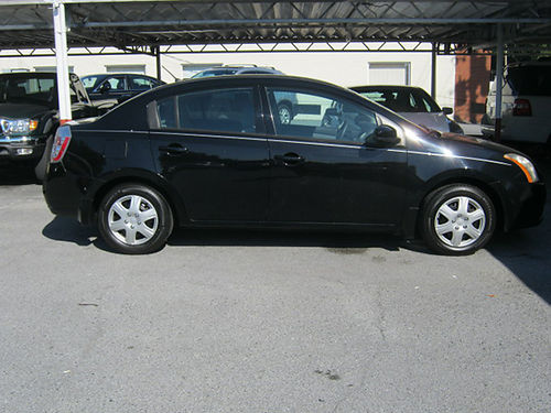 2008 NISSAN SENTRA black 4dr 4cyl auto pw pl cd 2341 5995 LEWIS USED CARS Elizabethton TN