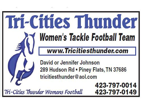 TRI-CITIES THUNDER - USWFL - WOMEN'S TACKLE ...