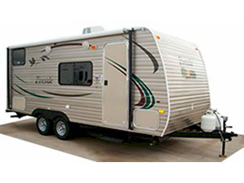 2012 FIRESIDE 19 travel trailer fully self contained sleeps 7 like new condition stove and show