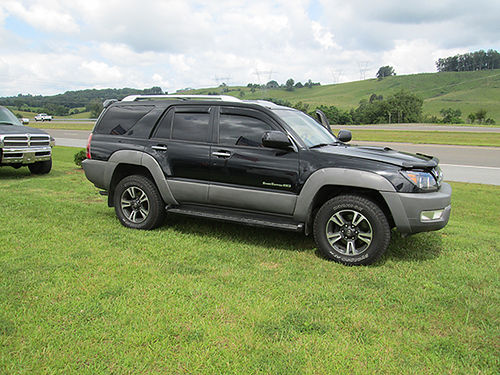 2003 TOYOTA 4RUNNER 4x4 loaded wall avail options clean runs great new tires custom wheels 18