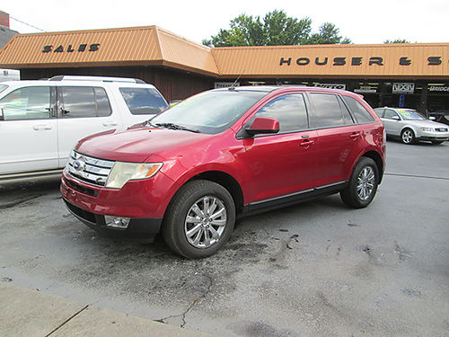 2007 FORD EDGE SEL FWD 4dr auto leather sunroof warranty alloys 07FE 6950 HOUSER  SONS Bl