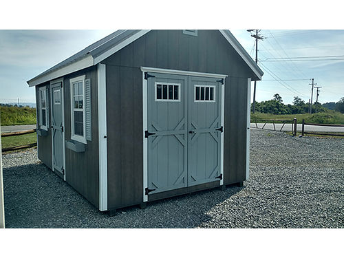 CUSTOM BUILDINGS in Stock Rent to Own Free Delivery within 20 miles Glade Springs RM Motors 276-