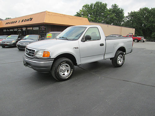 2004 FORD F150 4x4 Heritage Edt 6cyl 5sp cold ac shoft bed chrome wheels 142k 1 owner clean