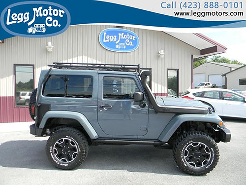 2013 JEEP WRANGLER RUBICON 10th Anniv 26k miles 552 32900 LEGG MOTOR CO
