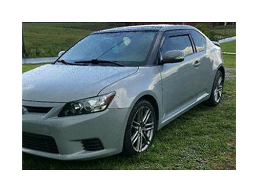 2012 SCION TC 96k miles 6 speed auto w slap shift clean interior and exterior new tires about 8