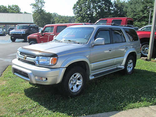 2001 TOYOTA 4RUNNER v6 auto 4x4 Limited sunroof leather loaded 9241 7500 LIGHTNING AUTO SALES