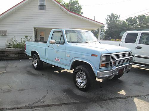1986 FORD F150 Short bed 4x4 300 6cyl 4sp only 74000 right miles orig paint rust free solid l