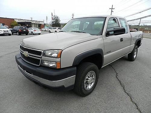 2007 CHEVY SILVERADO 2500 Heavy Duty 4WD 12048 13900 CARLS AUTO