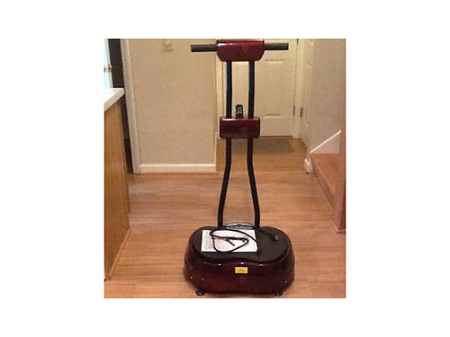 POWER STEP PLUS vibration exercise machine Excellent condition See attaches photo Includes instru