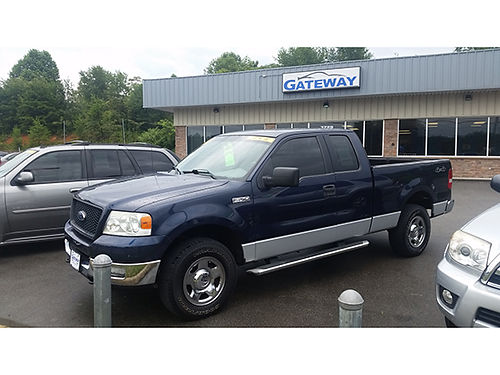 2005 FORD-F150 4x4 v8 auto CS8511 11895 Gateway Auto Center Jonesborough TN