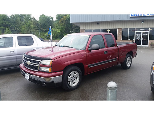 2006 CHEVY SILVERADO LT V8 auto 4dr G6337 11820 Gateway Auto Center Jonesborough TN