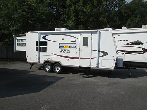 2007 ROCKWOOD ROO 23RS Rear slide-out 2 beds sleeps 8 air bath 2 way fridge heat awning ver