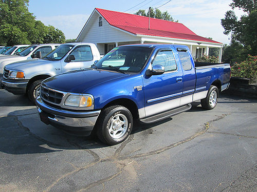 1998 FORD F150 Supercab XLT 2WD 46 v8 auto full power shortbed 3rd dr 124k 1 owner runs gre