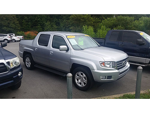 2012 HONDA RIDGELINE RTS 4x4 v6 auto G5116 16000 Gateway Auto Center Jonesborough TN