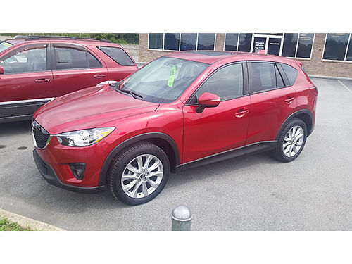 2015 MAZDA CX-5 sunroof 4cyl auto Grand Touring G3268A 19866 Gateway Auto Center Jonesboroug