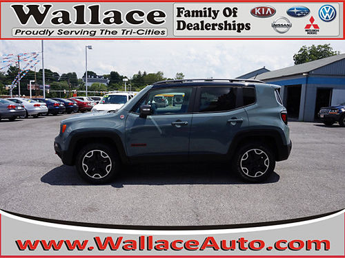 2015 JEEP RENEGADE TRAILHAWK 22461A 19995 WALLACE USED CARS BRISTOL