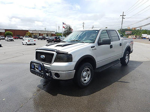 2006 FORD F150 SUPERCREW 4WD 54 v8 2 owner 12009A 10950 CARLS AUTO