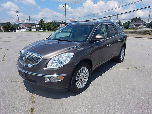 2011 BUICK ENCLAVE CXL FWD 36 v6 2 owner 12098 13575 CARLS AUTO