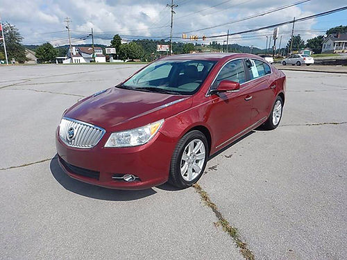 2011 BUICK LACROSSE CXL FWD 24 4cyl 2 owner 12100 11975 CARLS AUTO