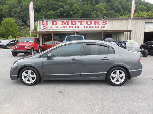2009 HONDA CIVIC LX-S auto all pwr alloys Cash Special 011252 5999 HD MOTORS KPT TN