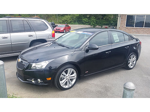 2010 CHEVY CRUZE LTZ turbo 4cyl great mpgs air nice loaded G7819 12801 Gateway Auto Center