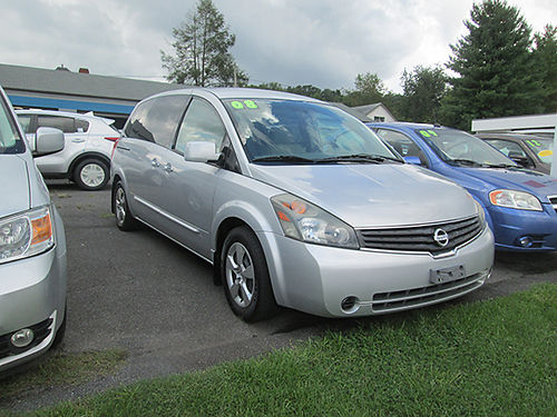 2008 NISSAN QUEST 7304A 5995 WALLACE USED CARS BRISTOL