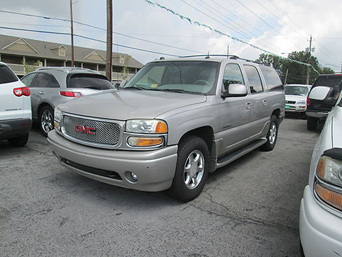 2004 GMC YUKON XL v8 auto leather all power 4dr cd alloys 19507 5200 ALLEN HODGE MOTORS Bri