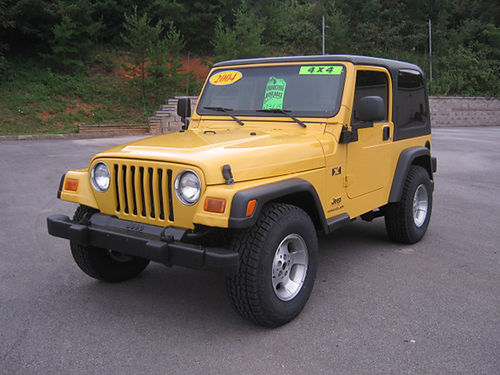 2004 JEEP WRANGLER G7560 13618 Gateway Auto Center Jonesborough TN