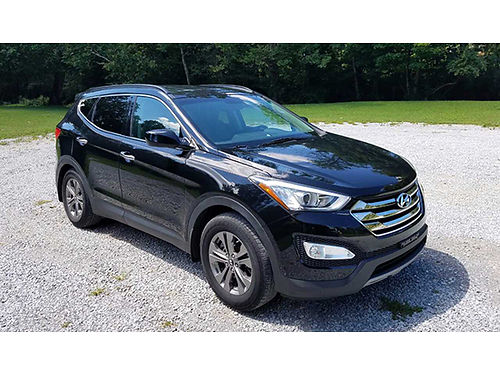 2013 HYUNDAI SANTE FE Sport 4cyl auto air roof rails heated fseats AMFM Sirrus MP3 hands