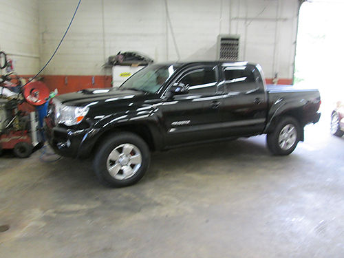 2007 TOYOTA TACOMA double cab 4x4 sport pkg TRD Off Road Pkg hard bed cover loaded up nice TRD