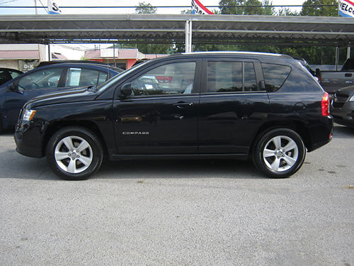 2011 JEEP COMPASS black 4dr keyless entry 4cyl pw pl cd 0045 8995 LEWIS USED CARS Elizabet