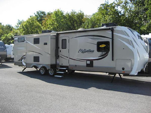 2015 REFLECTIONS 308 BHTS 3 slides 2 acs all power outdoor kitchen very nice RV7624 29995